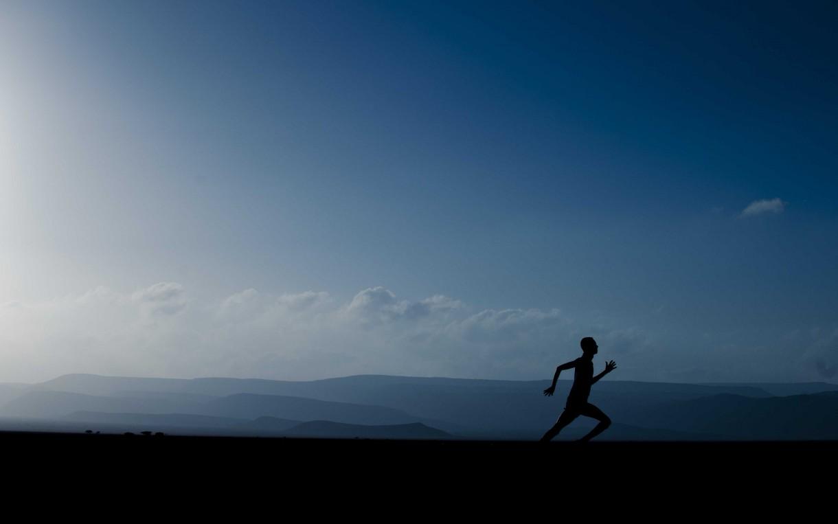 Runner in Grand Bara 15k