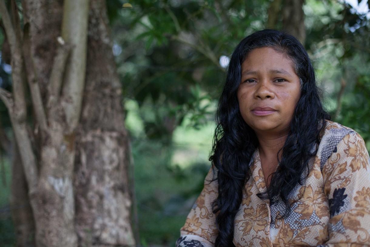 """We lost everything,"" said Rosa Yaneth Chávez. ""We went to bed without eating. You can't even sleep, thinking about what you are going to give your children."" Photo by James Rodriguez/Oxfam America"