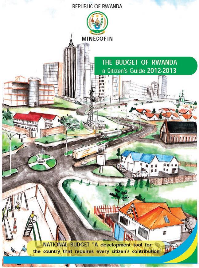 Rwanda Budget Citizen Guide 2012 cover