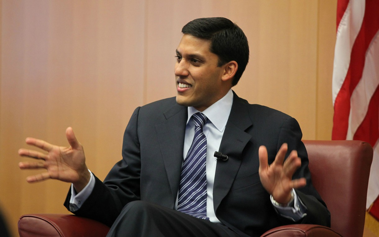 USAID Administrator Dr. Rajiv Shah. Photo: Wikimedia http://bit.ly/1m2LnZx