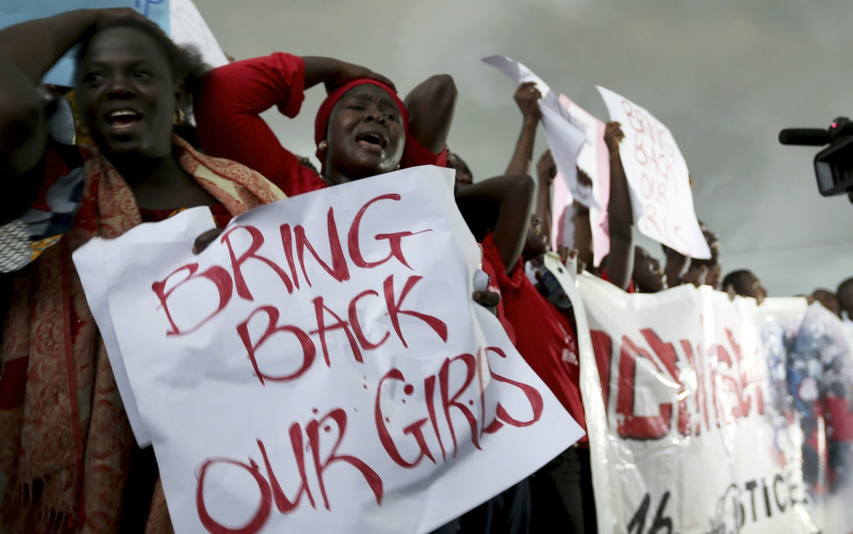 bring back our girls Dozens of heavily armed terrorists rolled into the sleepy little town one night in a convoy of trucks, buses and vans they made their way to the.