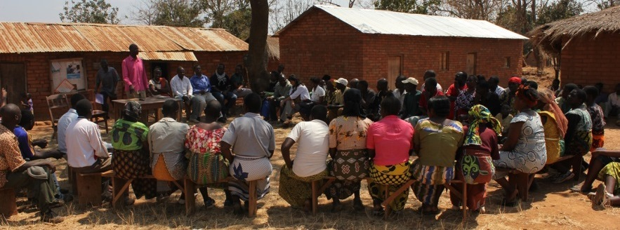 100 villagers and civic actors in the Mbeya region attend a meeting which revealed why the two local health dispensaries do not have any staff. Photo: Policy Forum