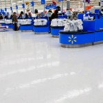 Interior of Walmart department store in Mohegan Lake, NY. Photo: vvoe/Shutterstock.com