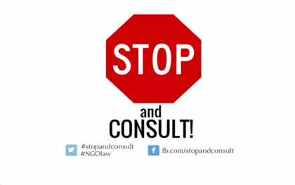 Image from Oxfam's YouTube video on Stop and Consult.  You can watch the full video here: http://bit.ly/1FwRqP1