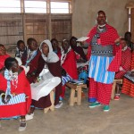 Masai men and women at an Oxfam-supported voter education program in Tanzania.  Photo: Oxfam in Tanzania